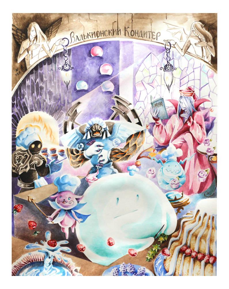 Mystical sweet shop by irbi-art