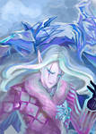 Summon the ice dragon by irbi-art