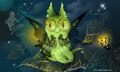 CLOSED adopt spiritual dragon by irbi-art