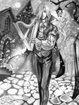 Vampire Harper by irbi-art