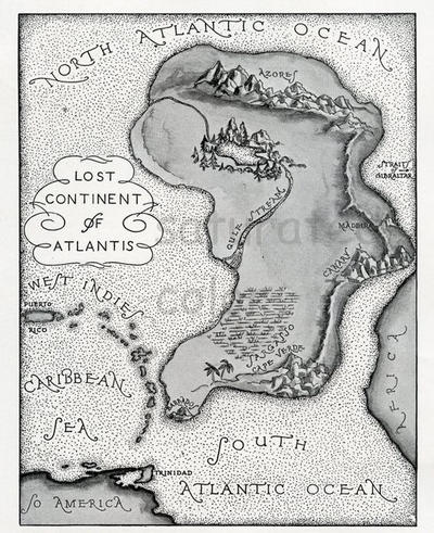 Atlantis maps by pauloconnor1956