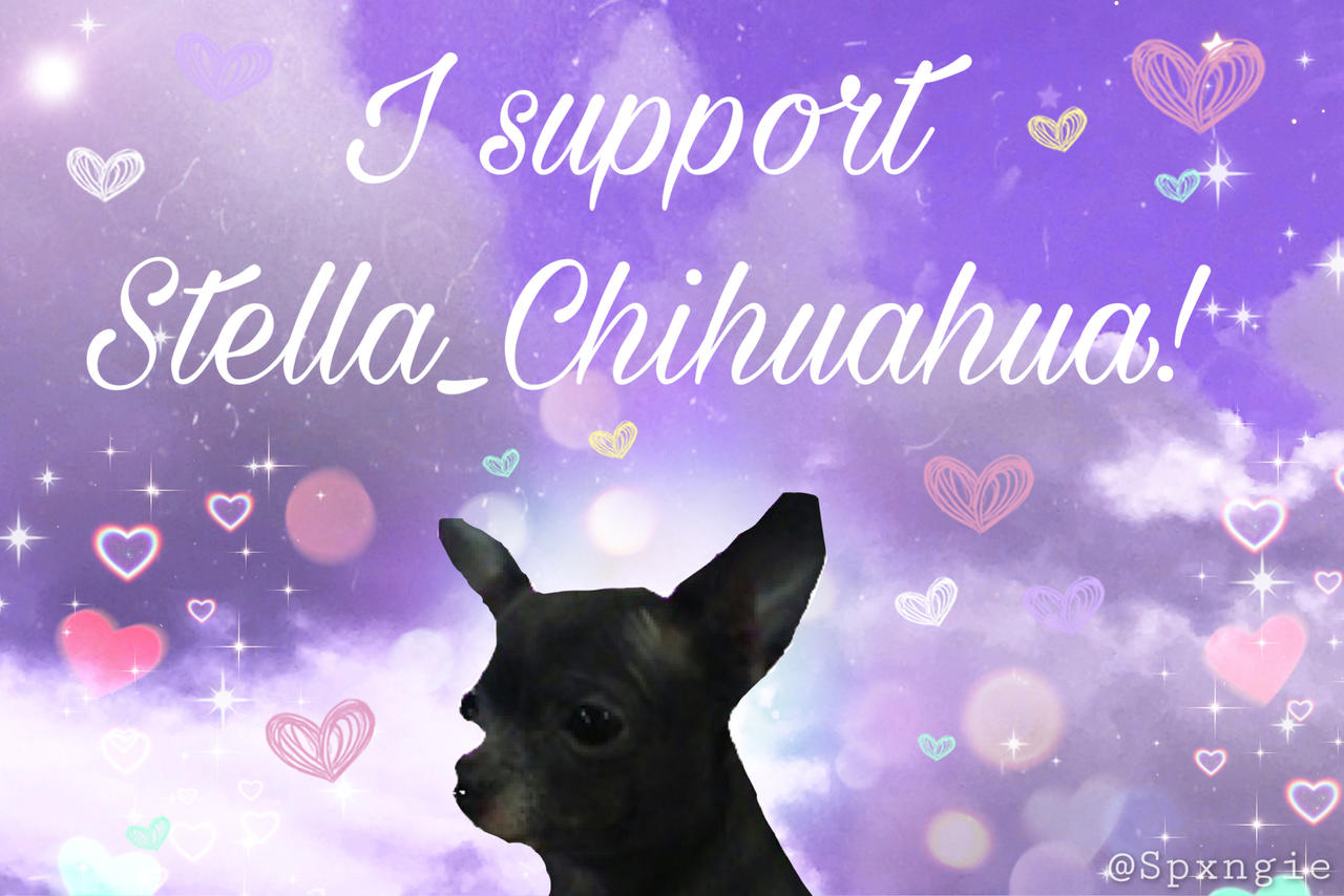 Support Stamp For Stella_Chihuahau!