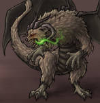 Maelstrom, Chaos / Sun Dragon - URealms Fanart