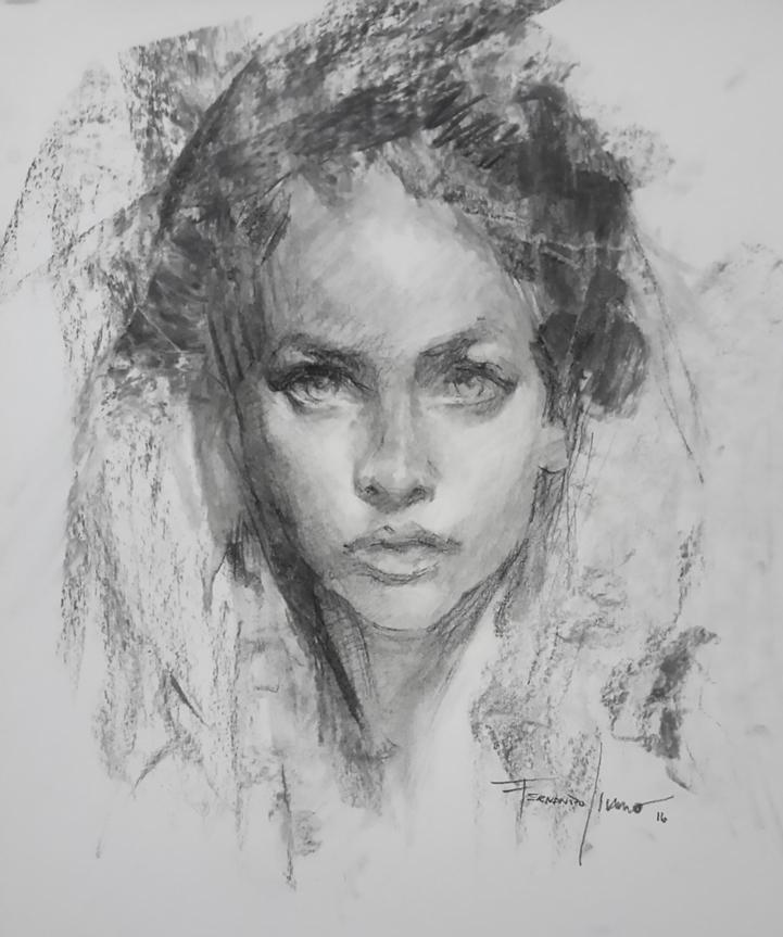 Portrait of a girl by fernandoissamo