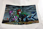 Project Horizons Game Mat by Art-N-Prints