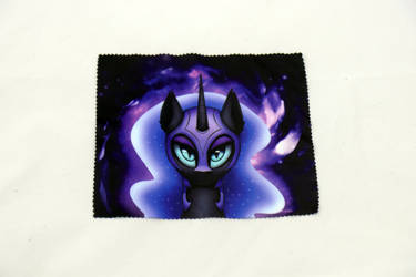 Nightmare Moon Glasses Cleaning Cloth by Art-N-Prints
