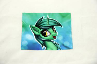 Lyra Heartstrings Glasses Cleaning Cloth by Art-N-Prints
