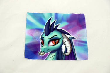 Ember Glasses Cleaning Cloth by Art-N-Prints