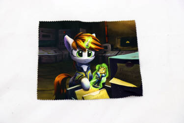 Fallout Little Pip Glasses Cleaning Cloth by Art-N-Prints