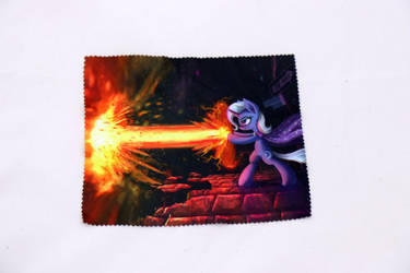 Trixie Glasses Cleaning Cloth by Art-N-Prints