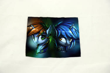Fallout equestria glasses cloth