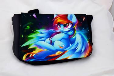 Rainbow Dash Messanger bag by Art-N-Prints