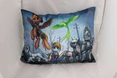 Fallout Equestria Pillow US size by Art-N-Prints