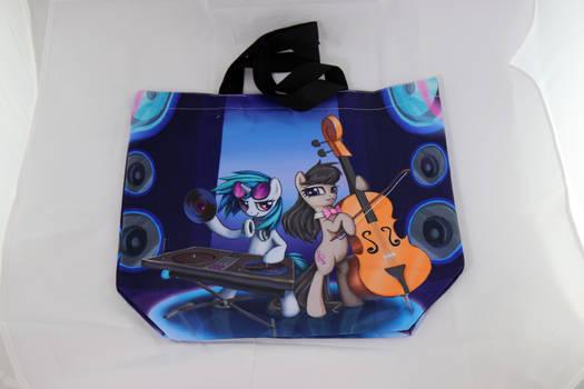Vinyl and Octavia canvas bag