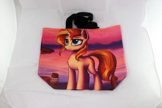 Sunset Shimmer Canvas Bag