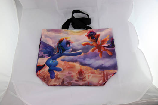 Rainbow Dash and Scootaloo Canvas Bag