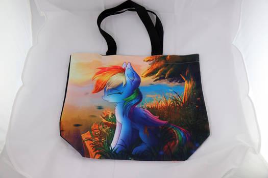 Rainbow Dash canvas bag