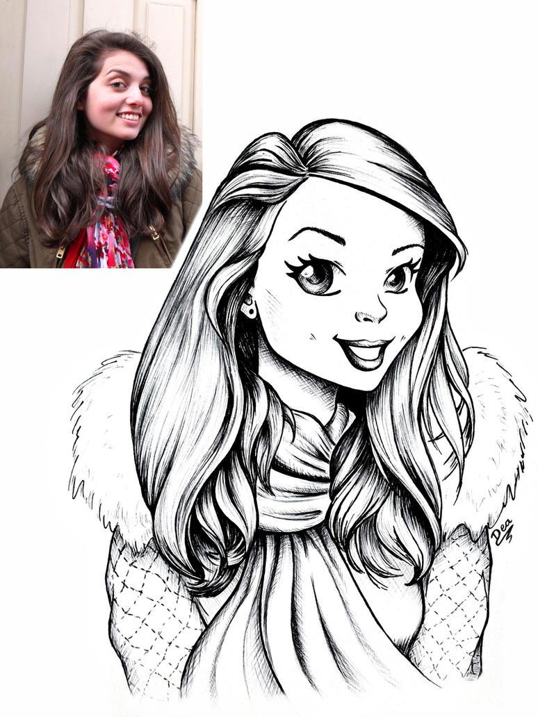 Ana-Sofia Portrait by Dea-Art