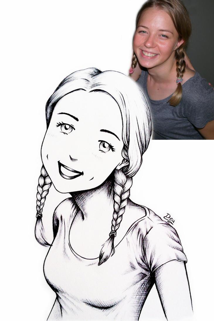 Szandra Sketch by Dea-Art