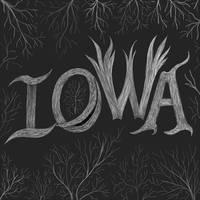Iowa lettering sketch