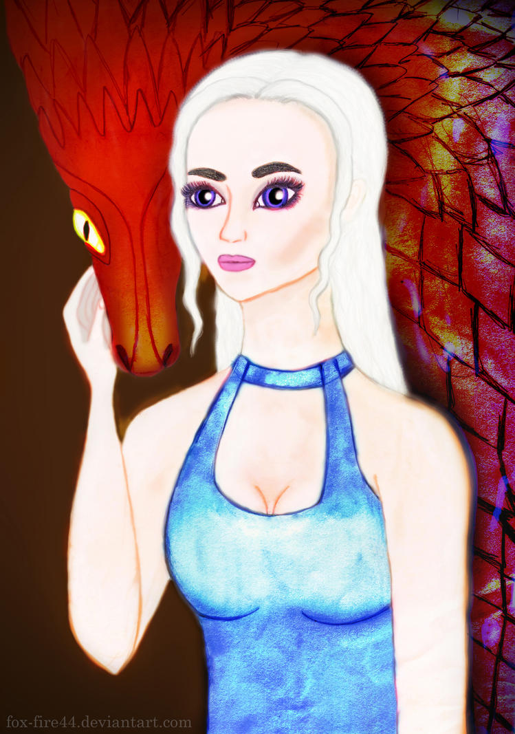 Daenerys Targaryen by FOX-FIRE44