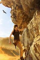 The path through the rocks by FOX-FIRE44
