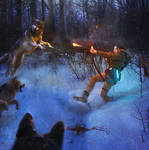 Rise of the Tomb Raider: attack of the wolves