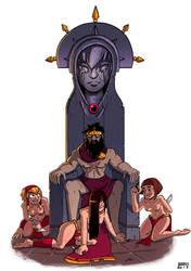 The Throne by HeyGeronimo