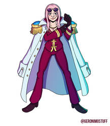 Captain Hina by HeyGeronimo