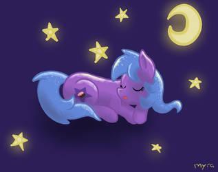 Starcake Asleep by Myrami