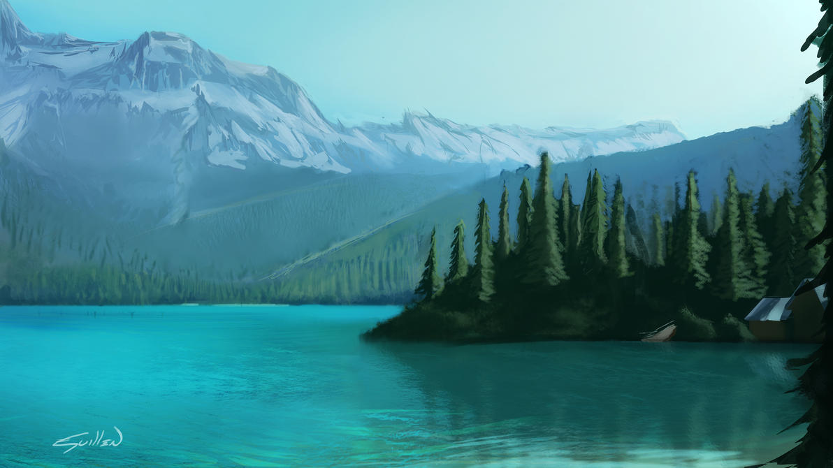 2 hour lake by Zeth-09