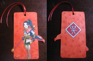 Zhou Yu Bookmark by yamirenamon