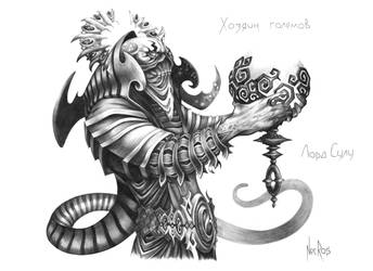 Golem Master by TheNecros