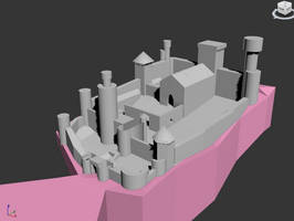 Gargoyles Castle by RYANMERCUREY