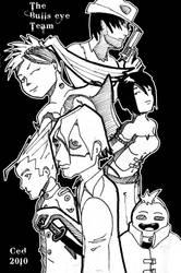 The Bull'eye team by Cedos