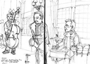 The Rick Margitza Trio by Cedos