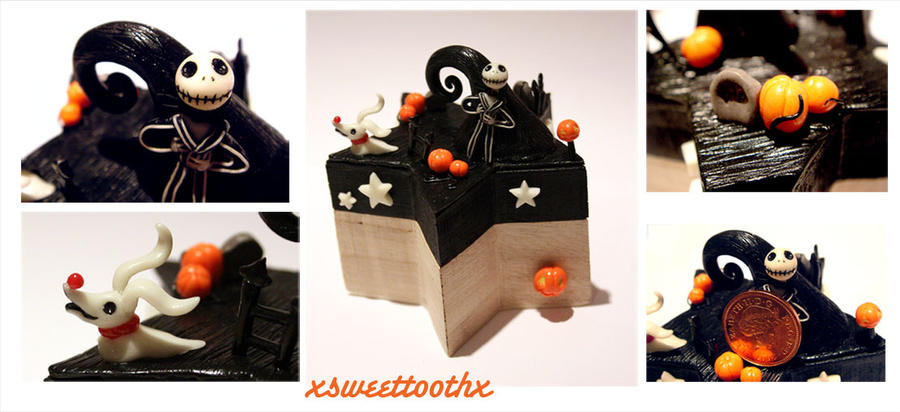 Nightmare Before Christmas Box by xsweettoothx