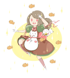 Bee And Puppycat And Taiyaki