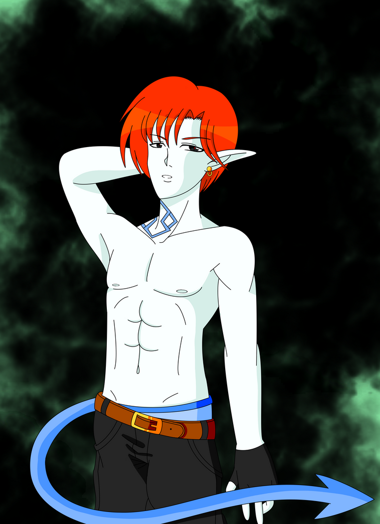 Shirtless and Sexy by Nyaly