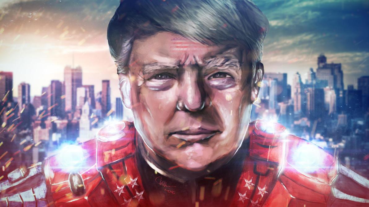 Speedpaint - Super Trump [HD] by CrayVill