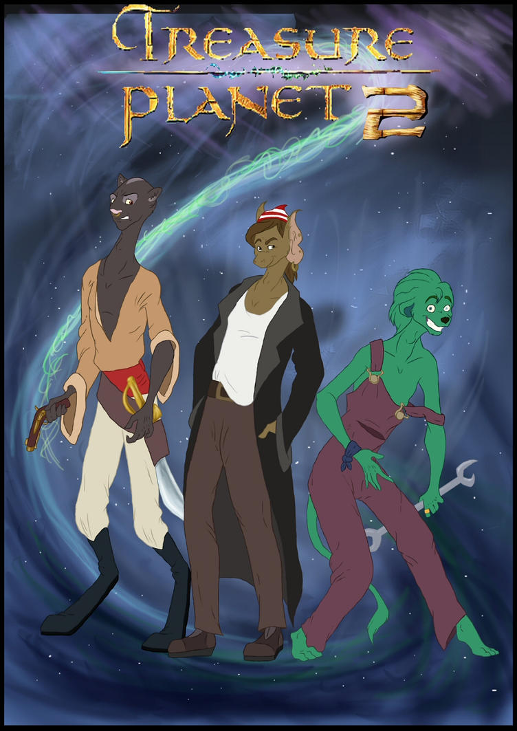 Treasure Planet 2 by Mushroom666 on DeviantArt