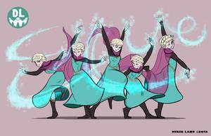 Elsa Ice Dance by REGEN-1
