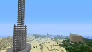 Minecraft Halo Orbital Space Tether