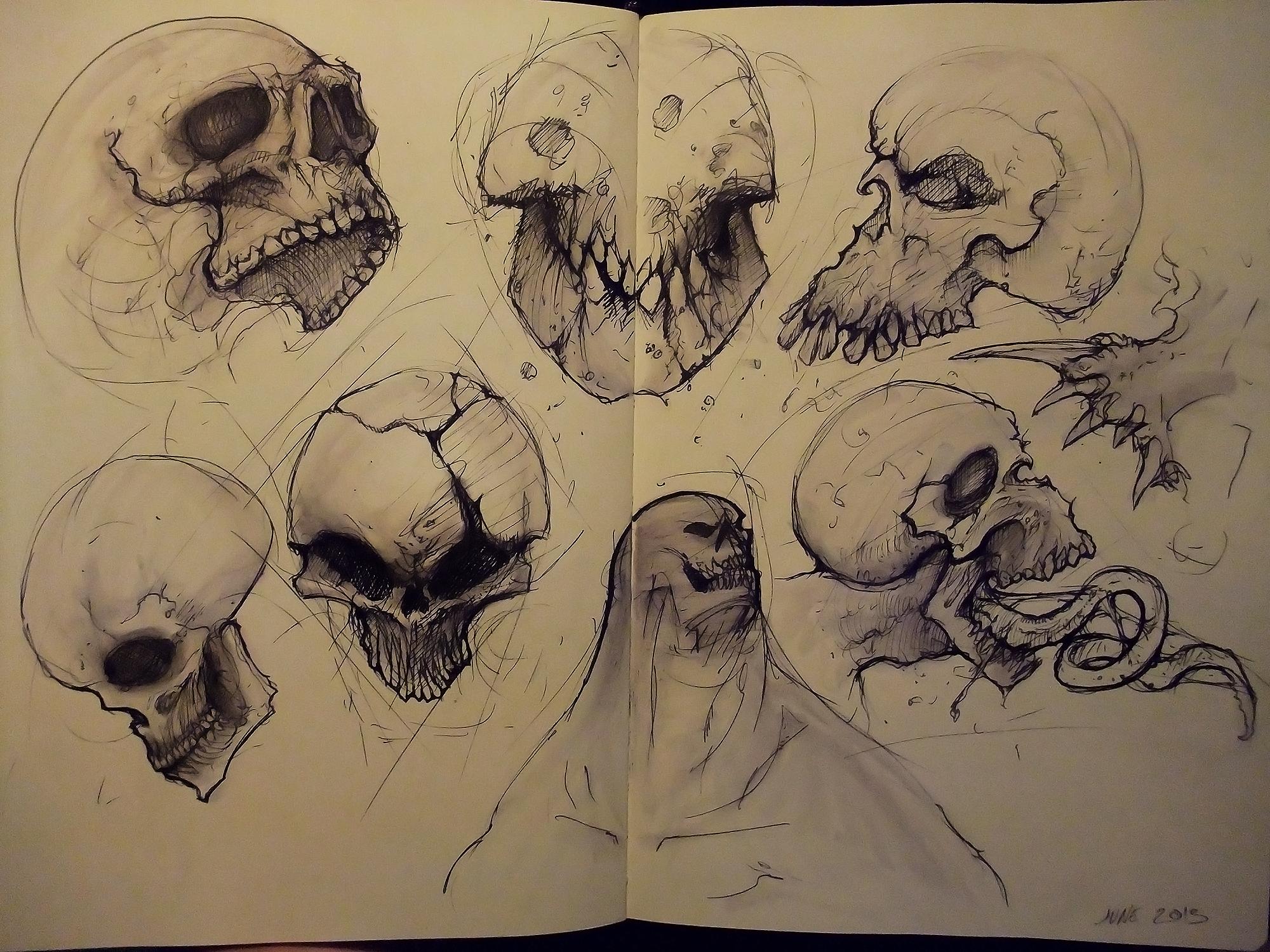 more skulls by JulioNicoletti