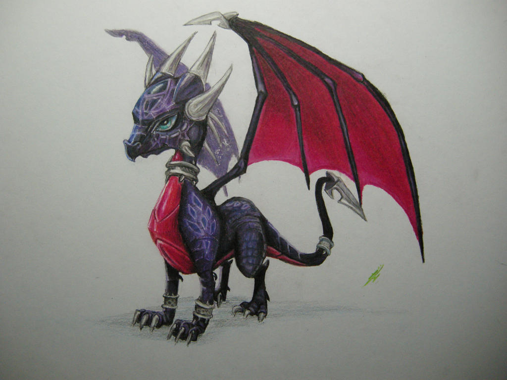 Cynder by metalfoxxx