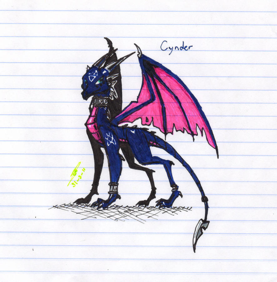 another Cynder by metalfoxxx