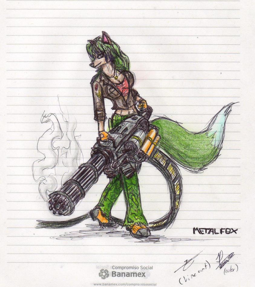 Foxy Gun by metalfoxxx