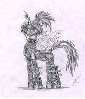 Death Metal Chrysalis by metalfoxxx