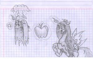 Chrissy sketches 1 by metalfoxxx