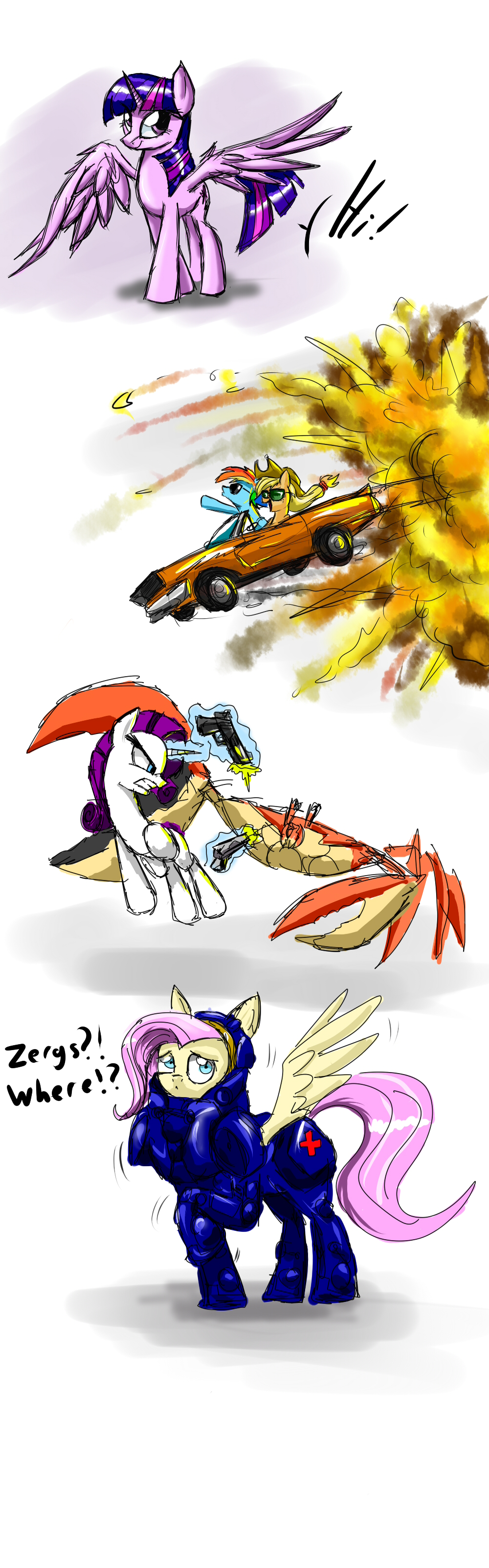 MLP skecth dump by metalfoxxx